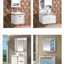 PVC浴室柜组合落地式洗漱台洗手脸面盆池卫生间现代简约镜柜富利雅卫浴