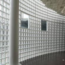 玻璃砖透明隔断玄关隔断实心玻璃砖透明汽泡玻璃艺术玻璃 厂家直销
