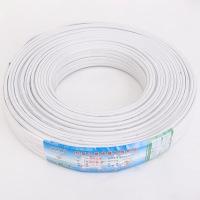 国标电线电缆白色扁护套线铜BVVB2x2.5平方护套线铜包铝电源线