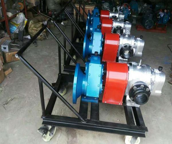 厂家直销瑞达泵业 移动式不锈钢LC保温转子罗茨泵河北泊头