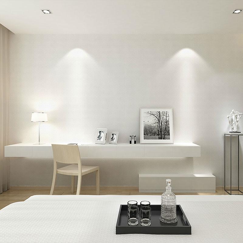 无纺布壁纸浅灰客厅纯色壁纸书房素色墙纸白色浅蓝背景墙