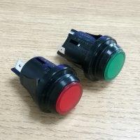 广东防水按钮开关厂家,IP65防水按钮开关价格,双刀绿灯按钮开关