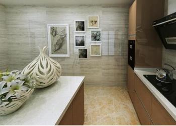 欧意厨柜金色年华晶悦系列高分子图片