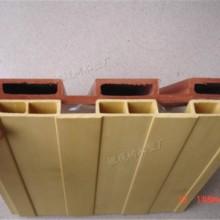生态木墙板长城板195广告牌制作天花吊顶格栅卡扣室内墙面装修批发