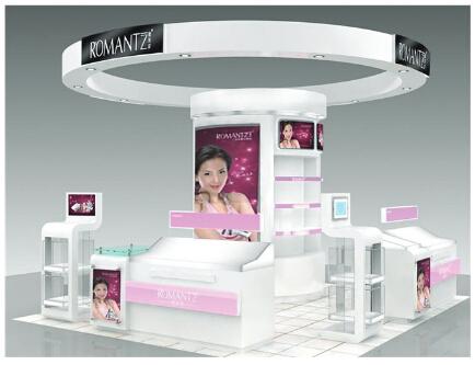 化妆品展柜、东莞化妆品展柜厂家、广东化妆品展柜专业定做