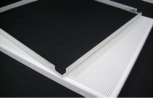 办公室装修吊顶铝扣板【铝合金扣板】批发18620829968 微孔吸音天花板