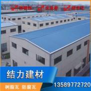 山东胶州pvc防腐瓦 树脂厂房瓦图片