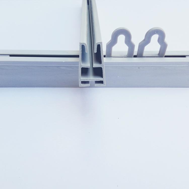 厂家直销 塑料夹KT板吊旗杆