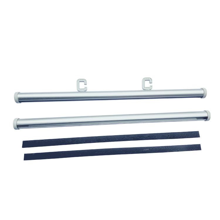 厂家供应铝合金直径15mm圆挂轴画轴海报杆吊旗杆