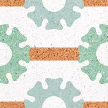 水泥基磨石地坪 无缝水磨石的应用前景及创意造型批发