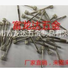 自动车床加工非标易车铁连接螺丝 固定螺丝 螺母 机械零件加工 压铆螺母柱图片