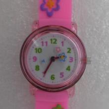 塑胶儿童手表卡通 小孩子超喜欢花花草草手表 可以按需要定做批发