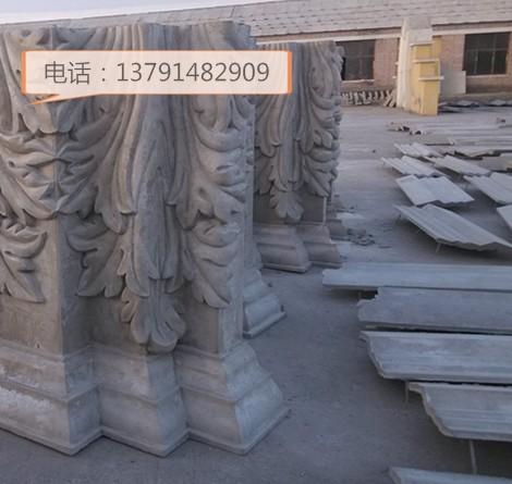 巨野县GRC构件欧式构件窗套门套罗马柱欧意建筑材料厂