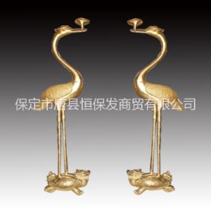铜仙鹤图片