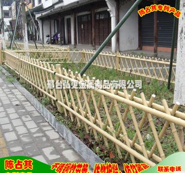 供应不锈钢竹节管护栏、仿竹篱笆竹节围栏、栅栏栏杆