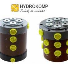 Hydrokomp转台油路分配器-德国Hydrokomp快换接头KM-3-EG002批发