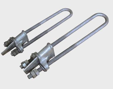 厂家直销 拉线金具下楔形线夹NUT-1-2-3-4
