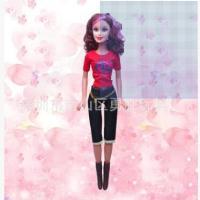 芭芘巴比娃娃28寸手提时尚音乐盒 3D真眼仿真搪胶玩具换装娃娃