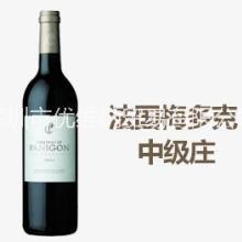 进口红酒批发波尔多AOC梅多克中级庄巴黎宫干红葡萄酒批发