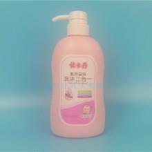 深圳1L洗发水沐浴露包装瓶厂家|1000ML日化包装瓶直销批发