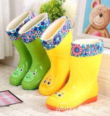 新款高筒中大儿童雨鞋雨靴卡通学生图片/新款高筒中大儿童雨鞋雨靴卡通学生样板图 (2)