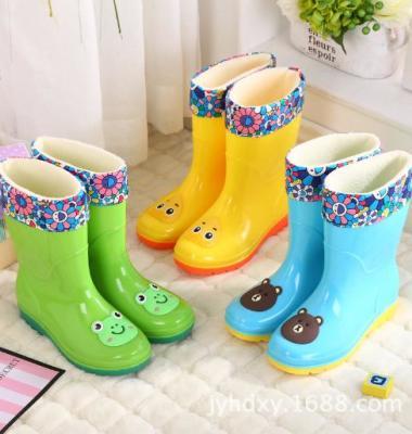 新款高筒中大儿童雨鞋雨靴卡通学生图片/新款高筒中大儿童雨鞋雨靴卡通学生样板图 (1)