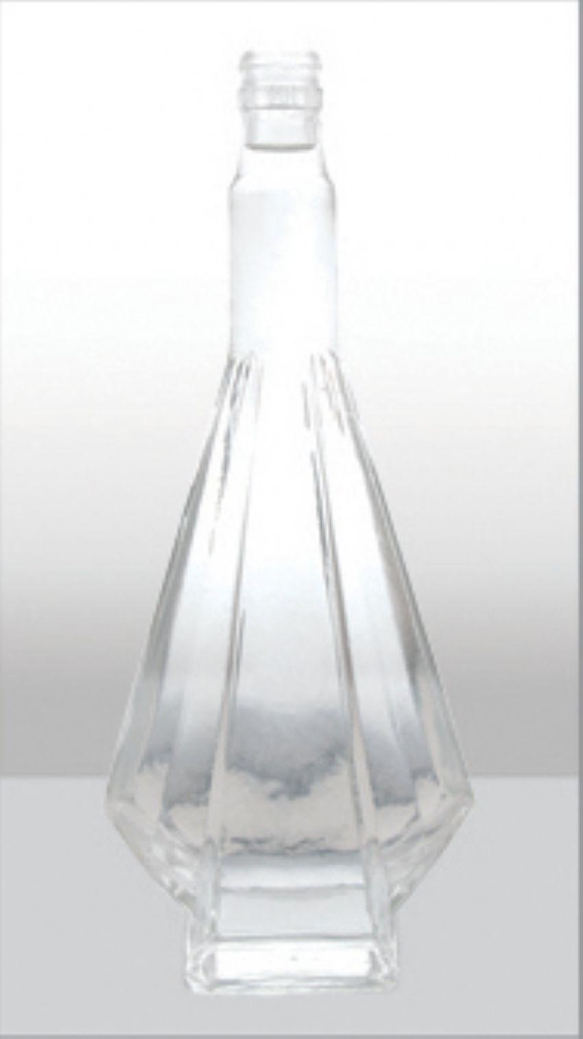 高白玻璃酒瓶 创意新款高档酒瓶 菏泽白酒瓶定做