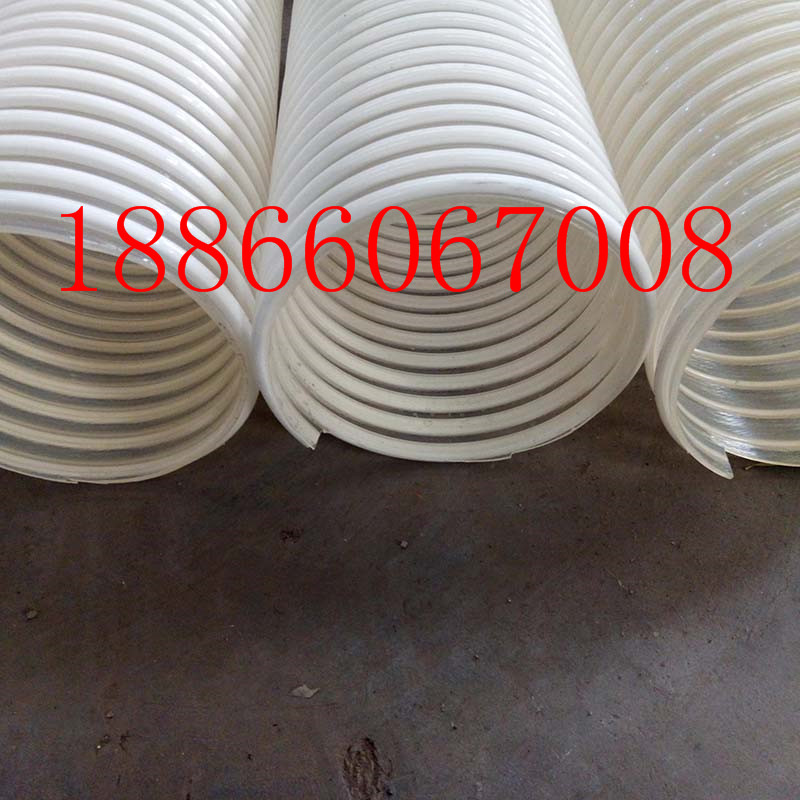 专用PU塑筋呼吸管物料输送管内壁平滑无色无味耐高温