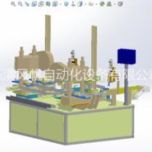 光伏发电板边框角码组装机图片