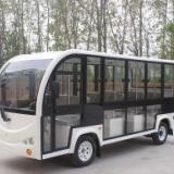 11座封闭式电动观光车 门窗可拆卸封闭式观光车 适用于四季