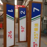 加油站立柱灯箱厂家  油品指示牌 led油品灯箱 加油站立柱灯箱 图片|效果图