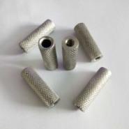 不锈钢非标网纹滚花圆螺母图片