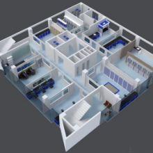 河南郑州实验室布局规划中选择家具批发