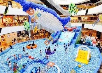 巧可粒广州儿童积木城堡室内epp积木乐园百万海洋球活动设计方案图片