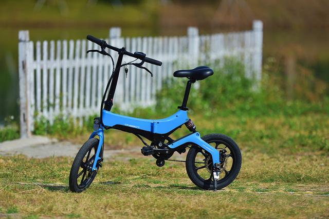 智能折叠电动自行车,折叠电助力车