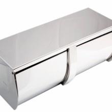 30不锈钢双排卷纸架、弹簧卡扣式、 双卷纸巾架弹簧卡扣式、厂家直销批发批发