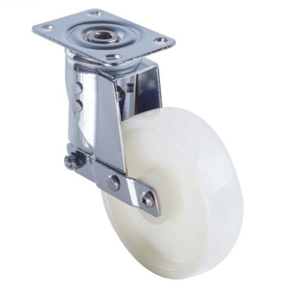 直销中型304不锈钢减震脚轮 减震轮厂家 中型减震轮 批发中型减震轮直销中型304不锈钢减震脚轮
