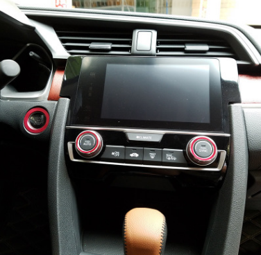 本田思域铝合金空调旋钮装饰圈 10代新思域改装点火圈