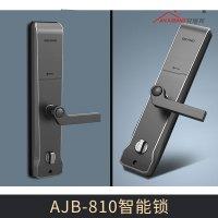 厂家密码智能锁电子锁防盗门家用 AJB-810智能锁图片