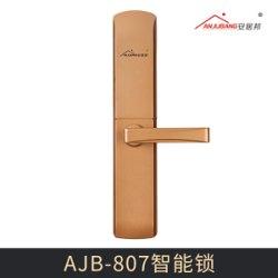 AJB-807智能锁 新品304不锈钢公寓锁智能锁电子感应门锁