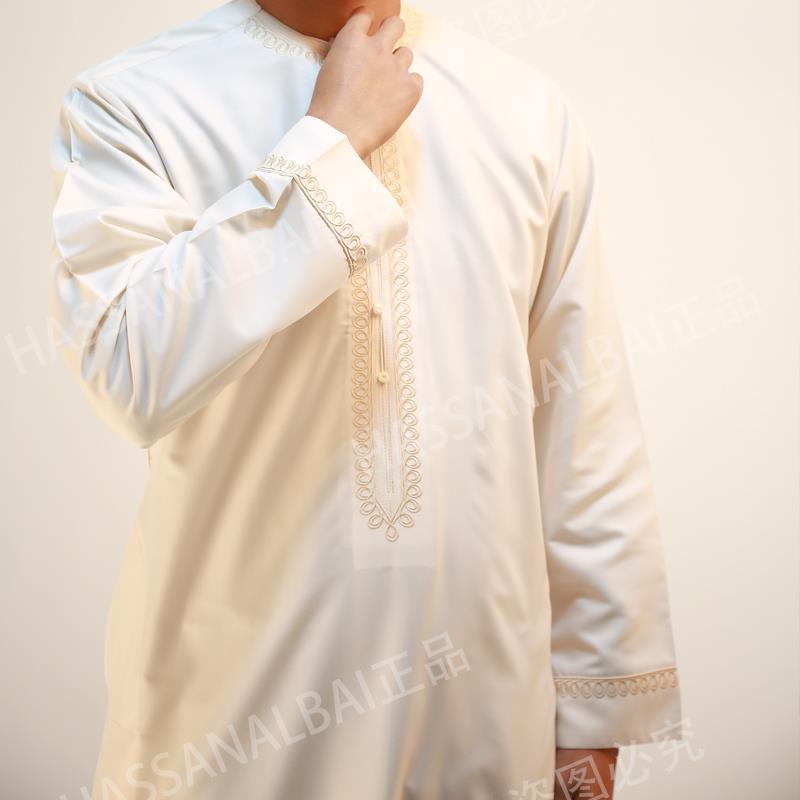 男士大袍穆斯林长袍回民服饰