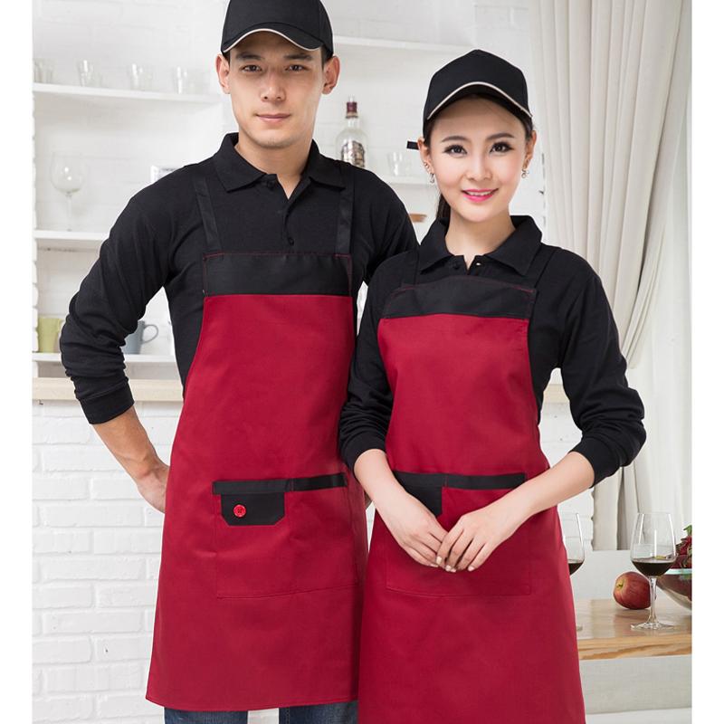 成都厂家围裙来图来样定制 广告围腰批发印字 厨房围裙定制 工厂直销量大从优