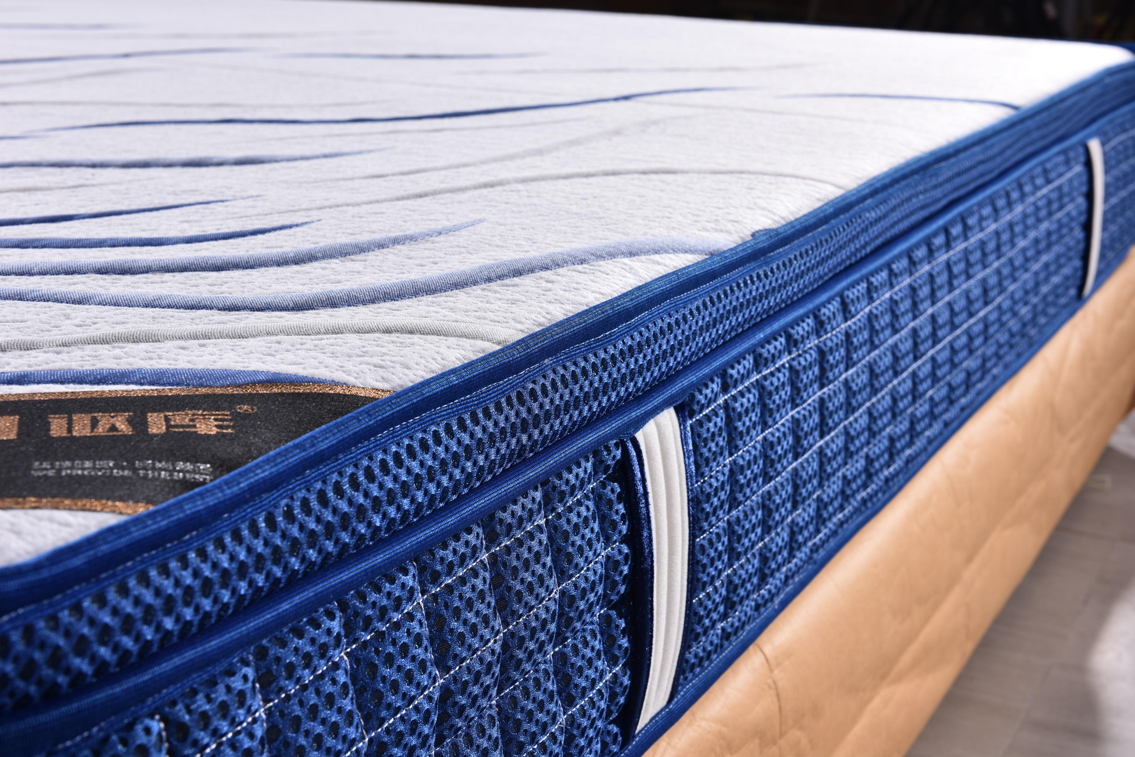 纯天然乳胶床垫 高回弹海绵床垫 卧室家具床垫 佛山床垫定制加工厂 一生相伴