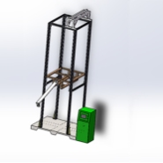 低压计量箱耐冲击试验装置图片