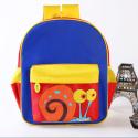 卡通动漫动物定制儿童双肩包毛绒书包幼儿园背包