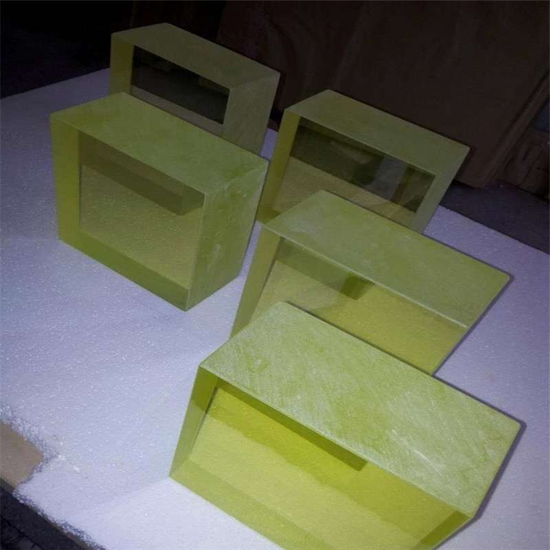 铅玻璃生产厂家 铅玻璃观察口防辐射铅玻璃 铅玻璃射线防护铅玻璃10mm
