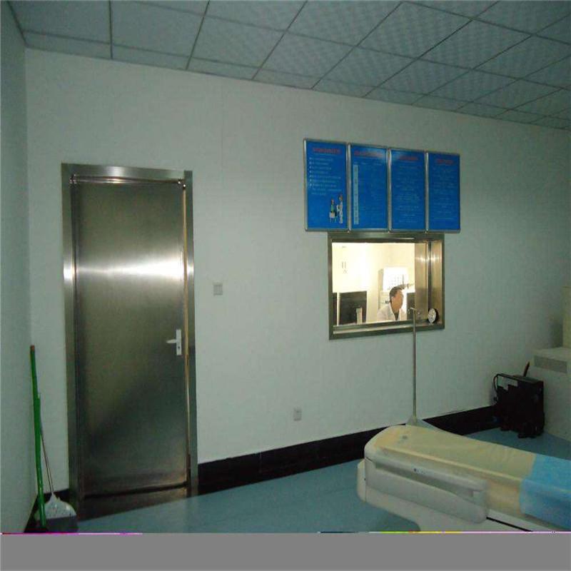 牙科防护医院用铅门CT牙科DR射线防护电动铅门防辐射铅门厂家直销