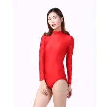 速卖通热卖表演舞蹈服成人女欧美时尚芭蕾舞练功现代舞连体紧身衣批发