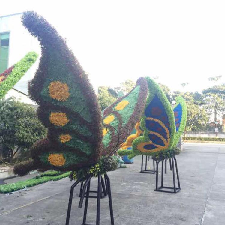 深圳仿真绿雕假雕塑厂家 专业定制 园林景观装饰动物雕塑  假绿雕