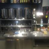 奶茶设备清单 奶茶设备价格 商用奶茶操作台封口机